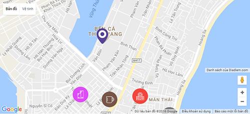 Chung cư hiện đại đủ nội thất tại Sơn Trà giá 430 triệu
