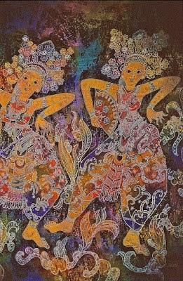 Macam-macam motif batik bali