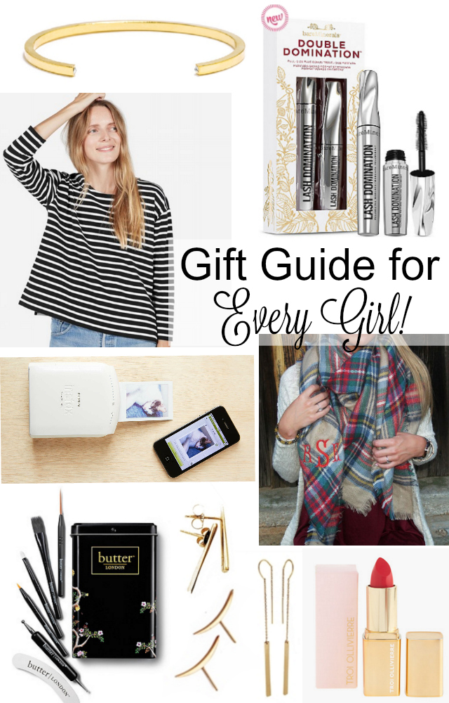 Gift ideas for every girl on your list