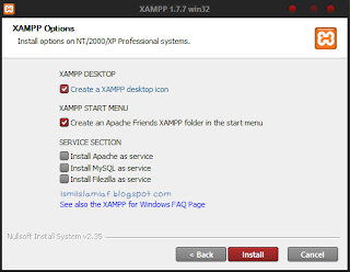 Tutorial Menginstal dan Menjalankan PHP-MySQL dengan XAMPP