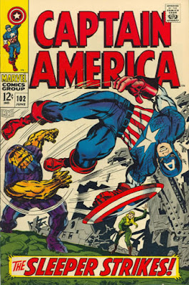 Captain America #102, the Sleeper