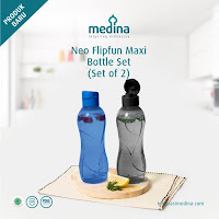Dusdusan Neo Flipfun Maxi Bottle Set (Set of 2) ANDHIMIND