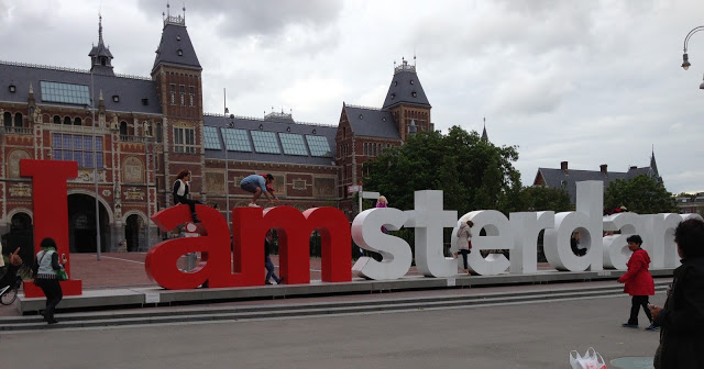 iamsterdam Spending Two Days in Amsterdam - Holland