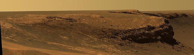 cratere Victoria ripreso da Opportunity