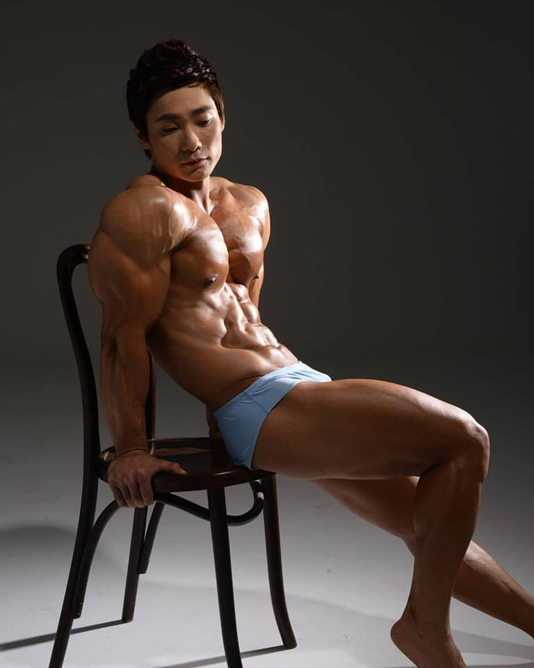 Asian muscle photo
