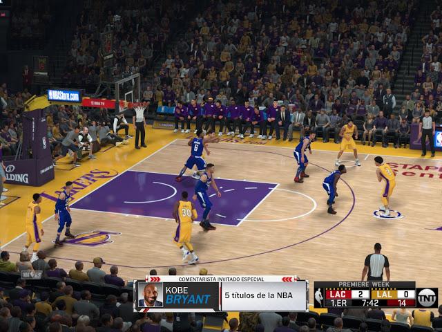 NBA 2K18 TNT Scoreboard