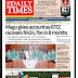 NAIJA NEWSPAPERS: TODAY'S THE DAILY TIMES NEWSPAPER HEADLINES [31 AUGUST, 2017].