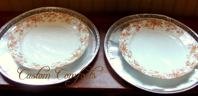 Custom Comforts Brown Transferware And The Great Clean Up