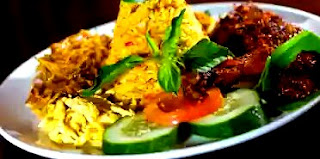 Cara membuat nasi kuning menggunakan rice cooker