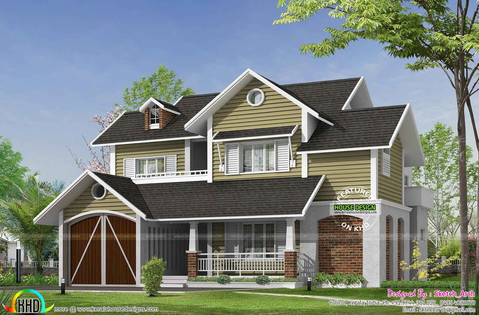 cute european style home kerala home design floor plans european style houses european style house plans
