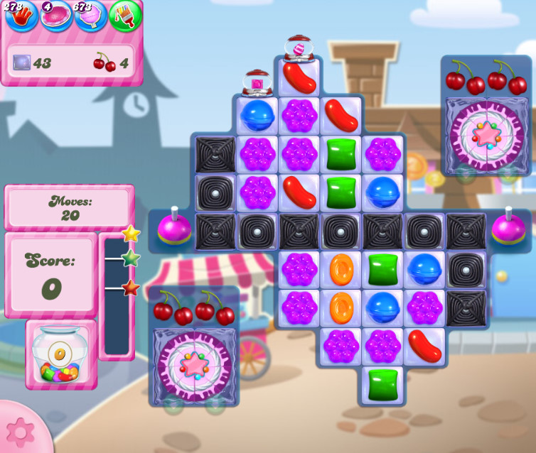 Candy Crush Saga level 2722
