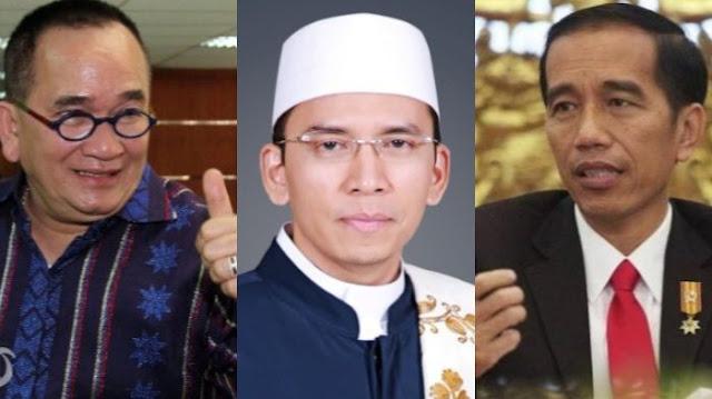 Ruhut Sitompul akan Membisiki Jokowi agar TGB Diangkat Jadi Menteri