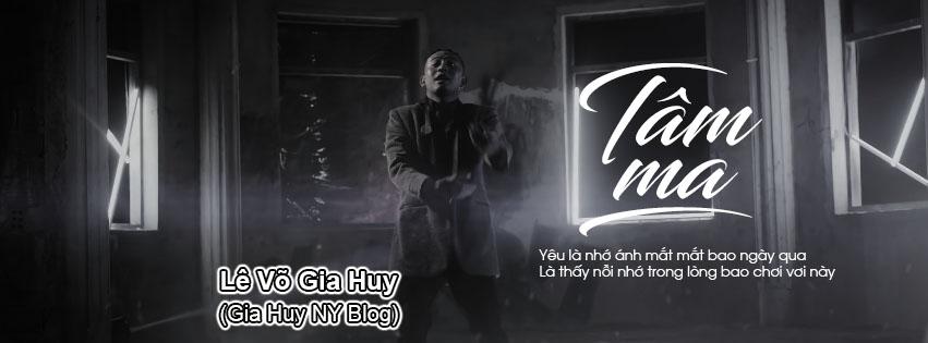 SHARE 6 PSD ẢNH BÌA TÂM MA - Blackbi ft Võ Đình Hiếu ft Elbi | GIA HUY NY BLOG