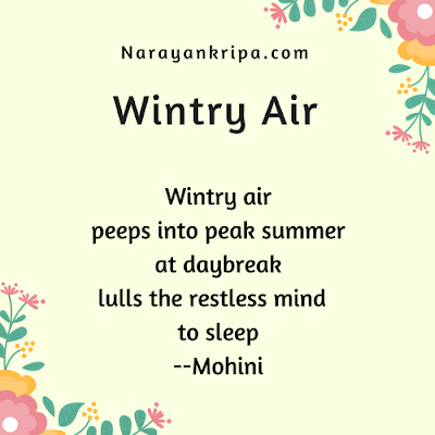Text Image for April Poetry Month Day 14 Poem: Wintry Air