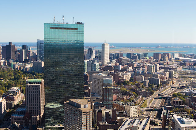 Panorama dall'Observation decks-Boston
