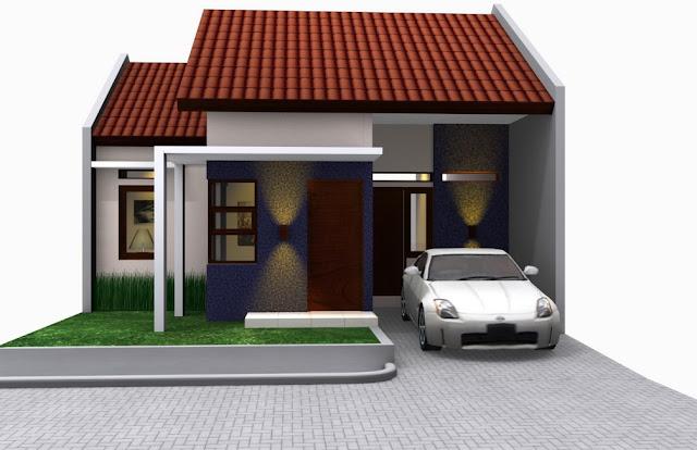 rumah minimalis sangat sederhana sekali