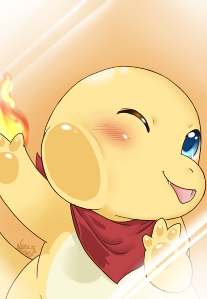 wallpaper para celular fofo charmander