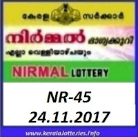 Nirmal (NR-45) on 24 November, 2017