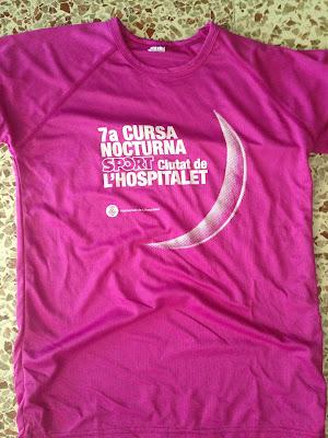 Camiseta Cursa Nocturna de l'Hospitalet 2016