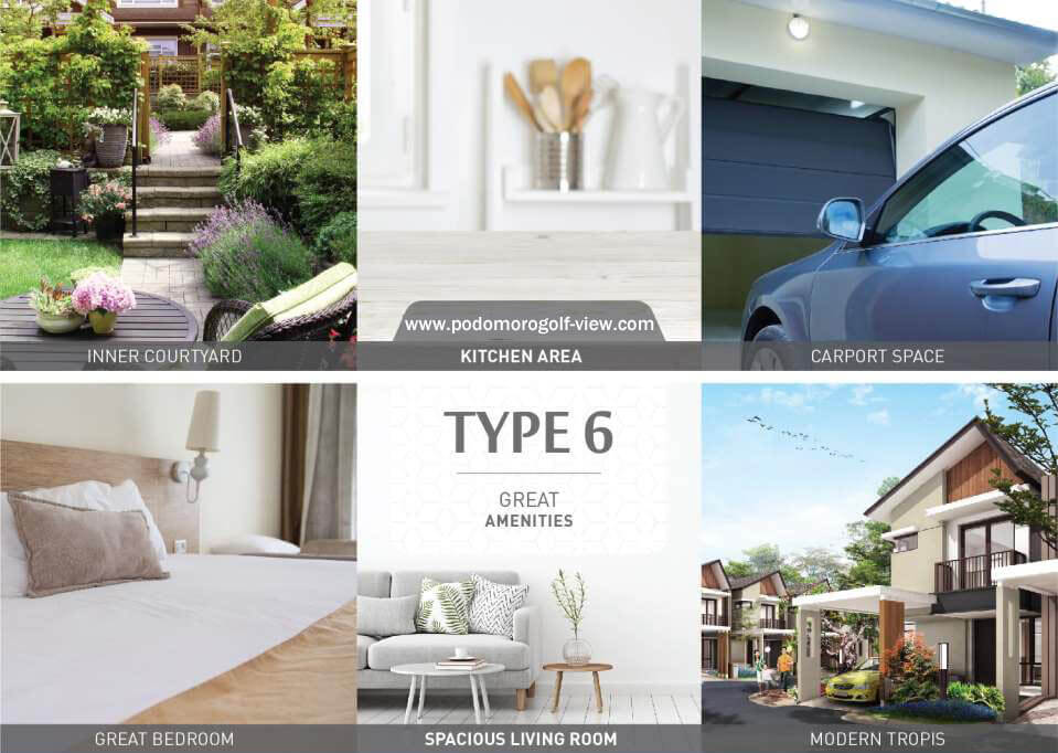 Rumah Podomoro Riverview Tipe L6 ( Feature )