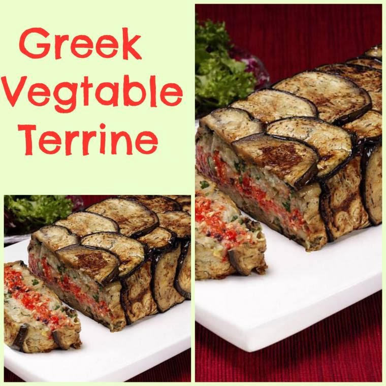 Greek Vegetable Terrine