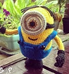 http://www.ravelry.com/patterns/library/despicable-me-one-eyed-minion