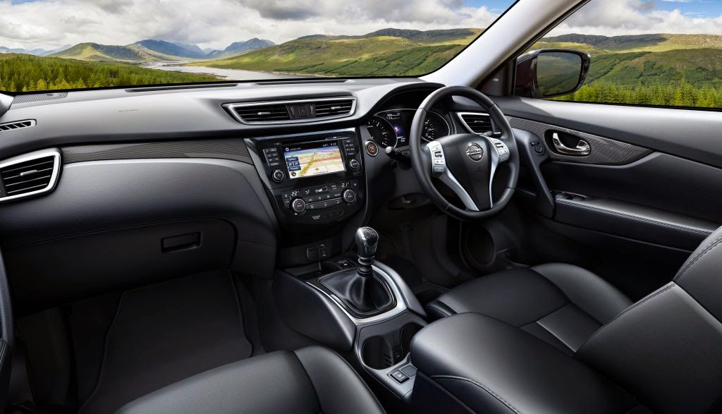 interior all new nissan xtrail