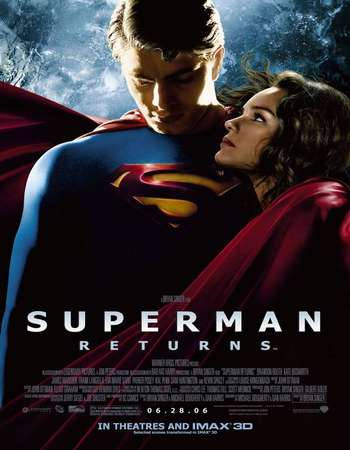 Poster Of Superman Returns 2006 Hindi Dual Audio 650MB BluRay 720p HEVC Free Download Watch Online downloadhub.in