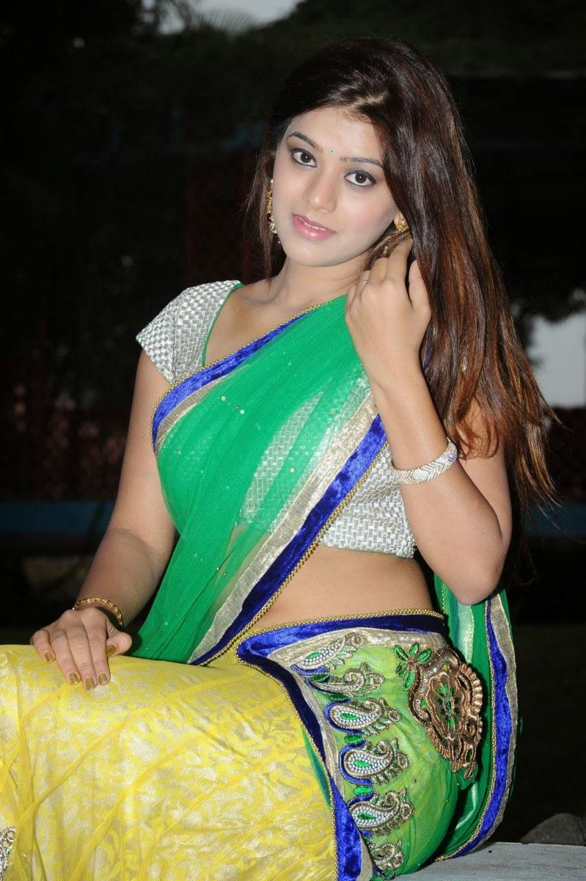 Actress Yamini Bhasker Latest Half Saree Stills