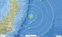 Σεισμική δόνηση 6,1 Ρίχτερ ανοιχτά της Ιαπωνίας