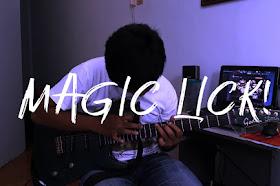 Magic Lick! | Guitar Lick | Simple Guitar Tapping Over Minor Pentatonic