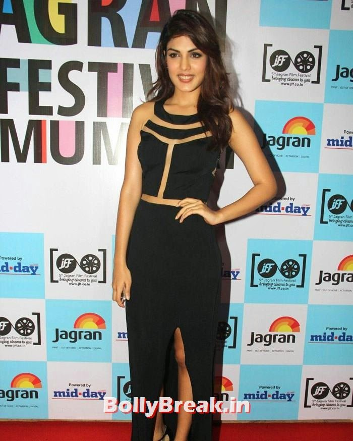 Rhea Chakraborty, 5th Jagran Film Festival Red Carpet Pics