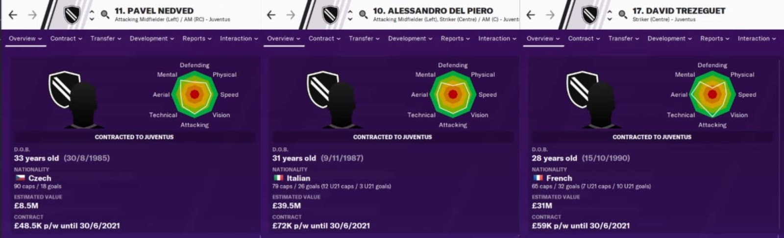 2006/07 Database for Football Manager 2020