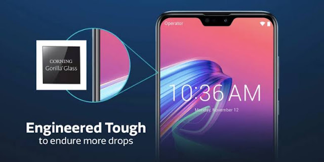 Asus Zenfone Max Pro M2 with Corning Gorilla Glass 6
