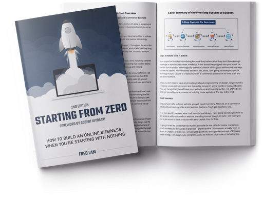 "Discover The 5 Step Framework I Used To Help My Students ""Go From Zero"" To Selling Over $30 Million in Products - Download My Audiobook Now!"