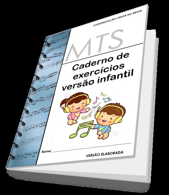 Top CADERNO DE EXERCÍCIOS TEÓRICO MUSICAL INFANTIL (M.T.S) ~ Musical  BJ01