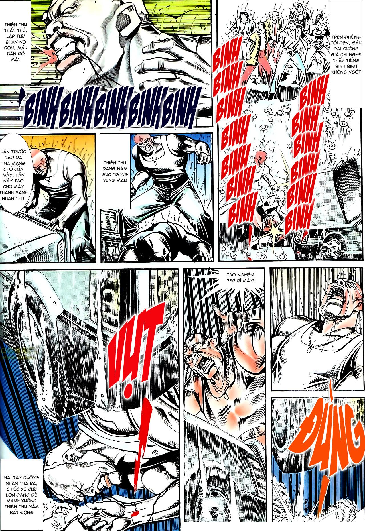 Người Trong Giang Hồ chapter 145: máu thịt tung tóe trang 15