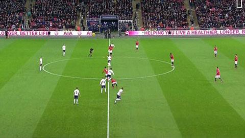 M.U thua oan ở bàn mở tỷ số của Tottenham?