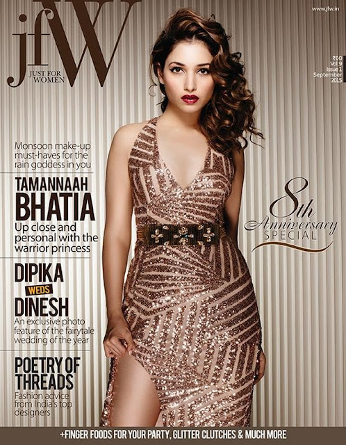 Tamanna Bhatia on jfW Magazine Cover 2015