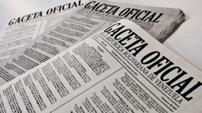 Gaceta Oficial Aumento Salarial 50% Trabajadores de PDVSA