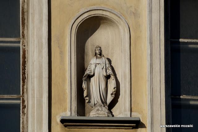 Warszawa Warsaw warszawskie kapliczki kapliczka Matka Boska Śródmieście