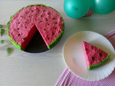 Lubenica Torta Watermelon Cake