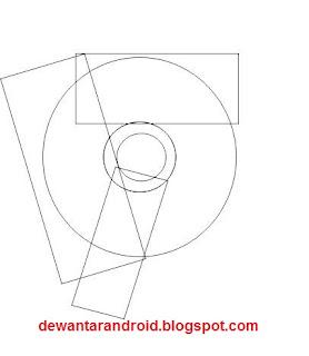 cara membuat logo google chrome dengan corel draw x4