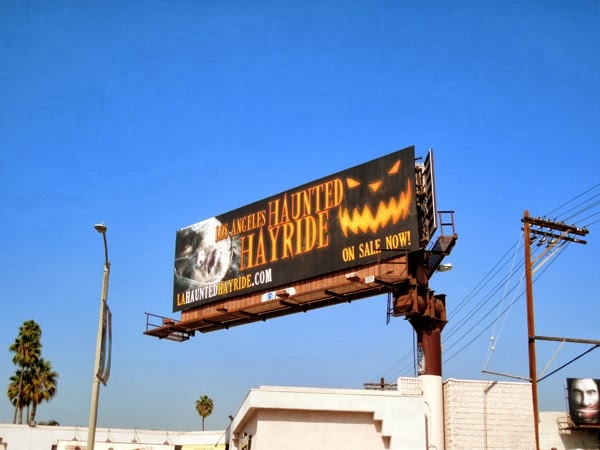 Los Angeles Haunted Hayride 2013 billboard