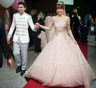 amyra rosli's wedding reception