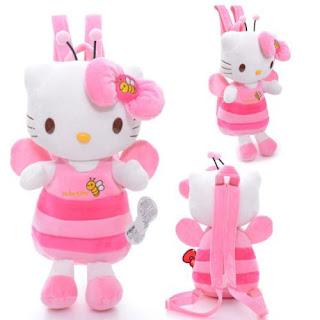 Tas Bentuk Boneka Full Body Hello Kitty