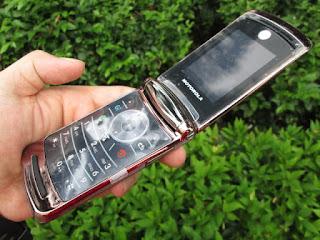 Hape Jadul Motorola V9 Seken Mulus Kolektor Item