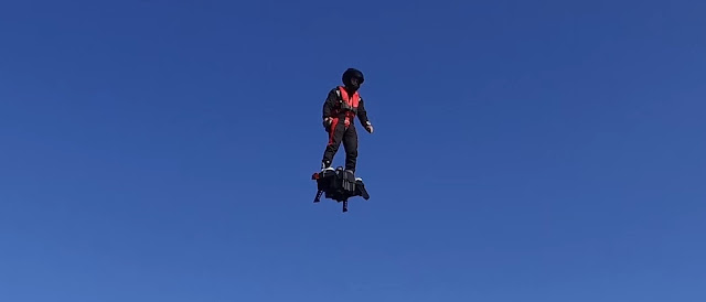 Flyboard - Uma realidade apavorante