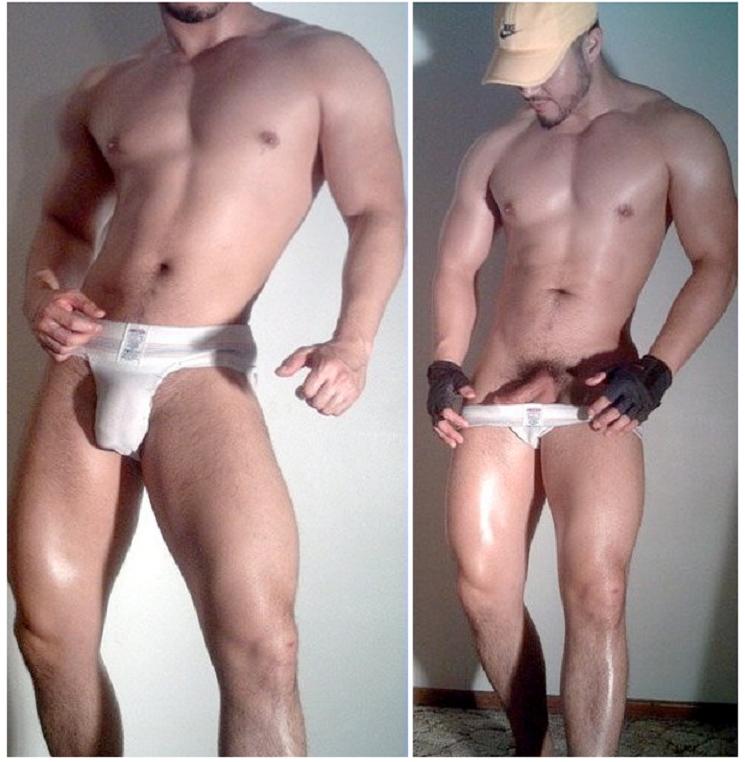 Sexy nude jock ass 3