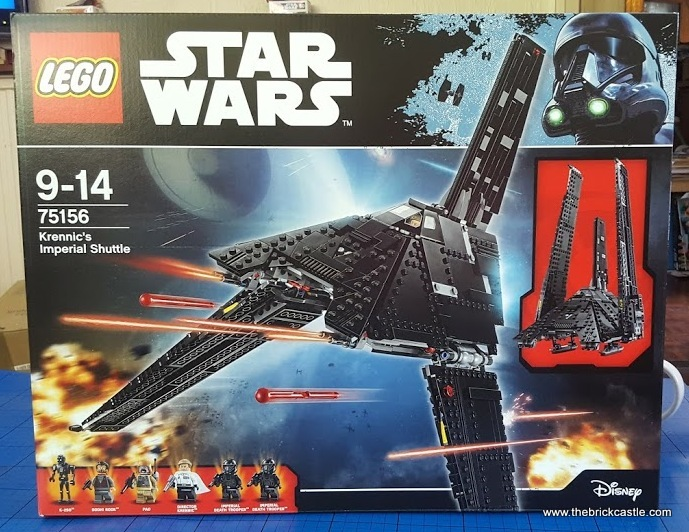 The Brick Castle Lego Star Wars Krennics Imperial Shuttle Review